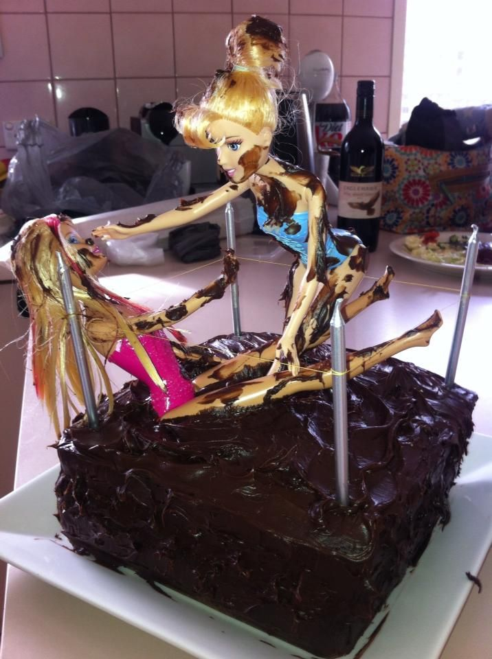 Barbie Chocolate Cake Images : 1000+ images about dirty barbie on Pinterest