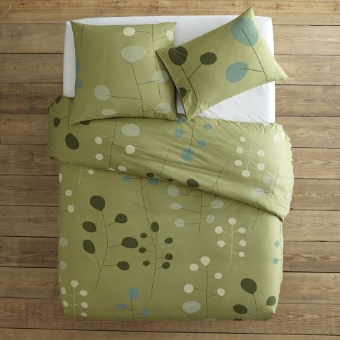 West Elm duvet and sham set on sale. Not exactly what I'm looking for but still pretty and only $30.
