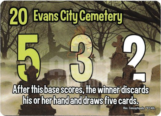 Evans City Cemetery - Zombies - Smash Up Card   Altar of Gaming