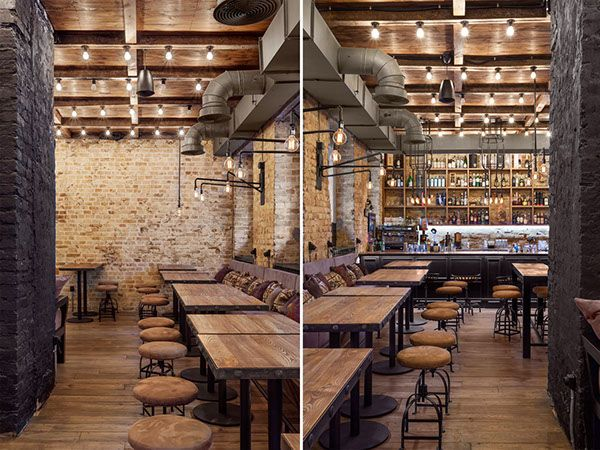 Bottega wine & tapas bar in Kiev, Ukraine 2015 on Interior Design Served