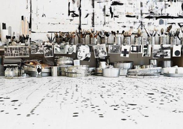 studio of painter/artist tenka gammelgaard