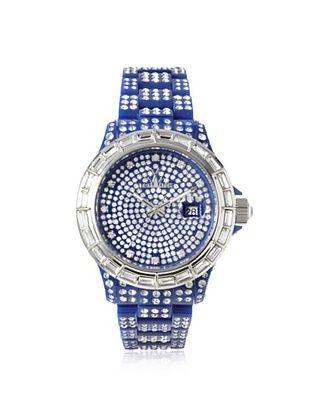 ToyWatch Women's TSC02BL Crystal Blue Plastic Watch