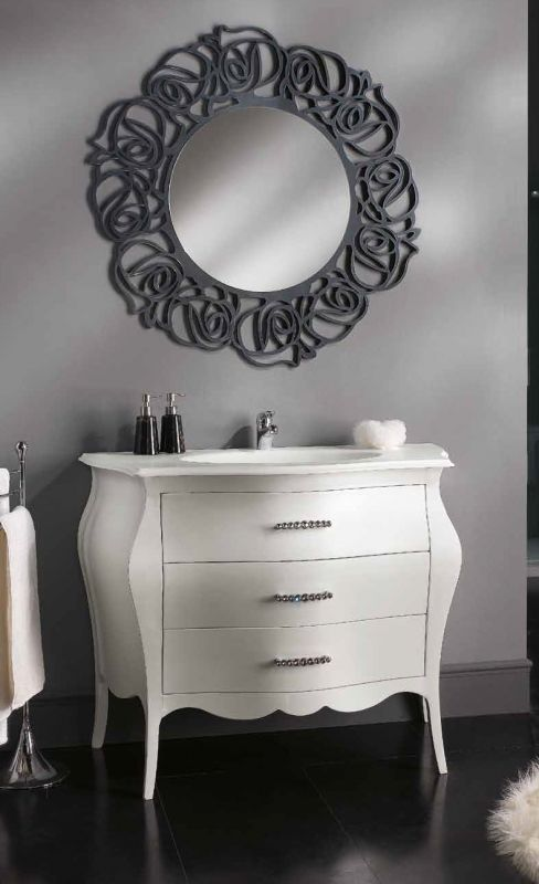 7 best mobili bagno shabby chic images on pinterest   bathroom ... - Arredo Bagno Chic