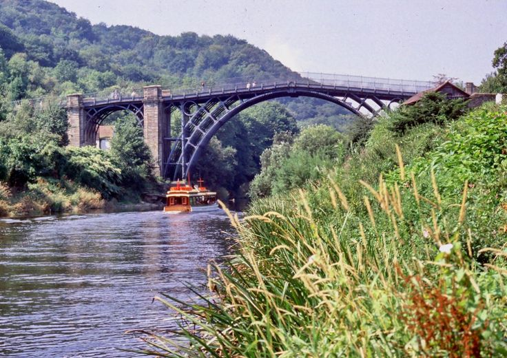 Ironbridge Gorge very deep gorge and beautiful river Severn flows right through it. It is one of the 10 best places in Shropshire for people who like to see power of nature. You can go and enjoy variety of outdoor activities in the gorge or visit the old Ironbridge