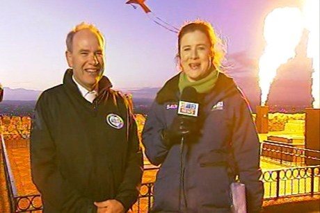 """Mayor Len Brown was at One Tree Hill this morning to celebrate Matariki.   """"Auckland Mayor Len Brown was at early morning prayers this morning at One Tree Hill, and says that Matariki is an important time of year for New Zealanders.""""  http://www.3news.co.nz/Matariki-celebrations"""