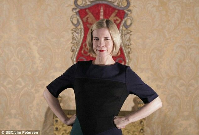 The Stunningly Attractive Academic - Dr. Lucy Worsley.