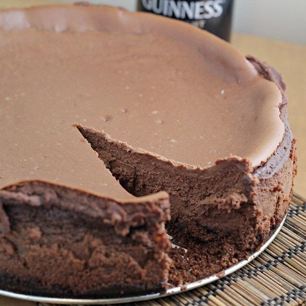 Guinness chocolate cheesecake | DESSERTS | Pinterest