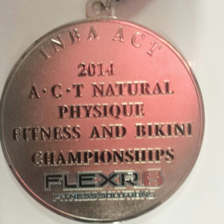 INBA ACT does it again with the best trophies and medallions in bodybuilding! Bring on 2015 INBA Canberra & Country