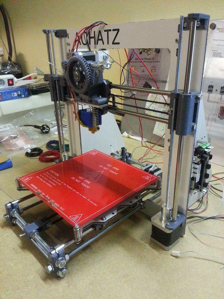 Building a Prusa Mendel i3 RepRap February 2014