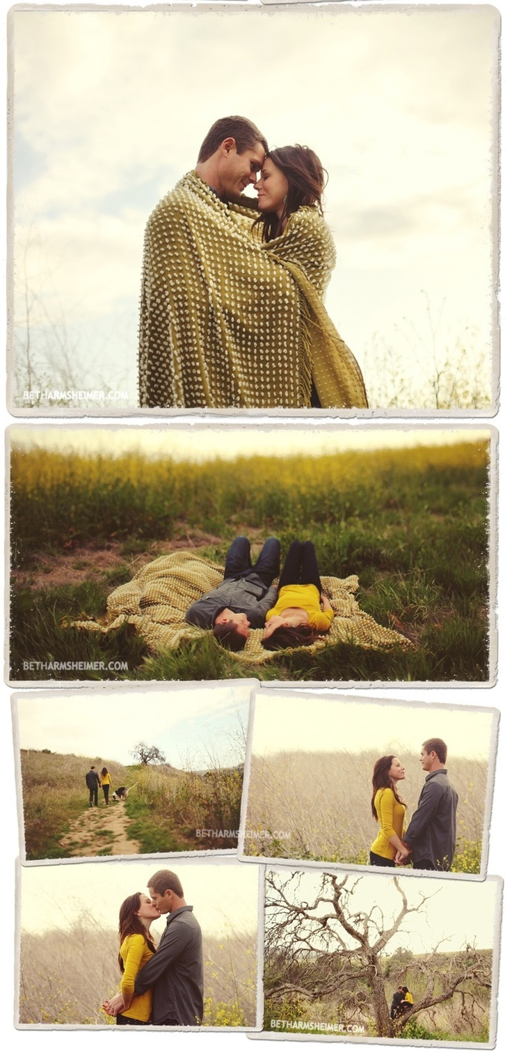Like the pic on the blanket and the one with the couple walking away.