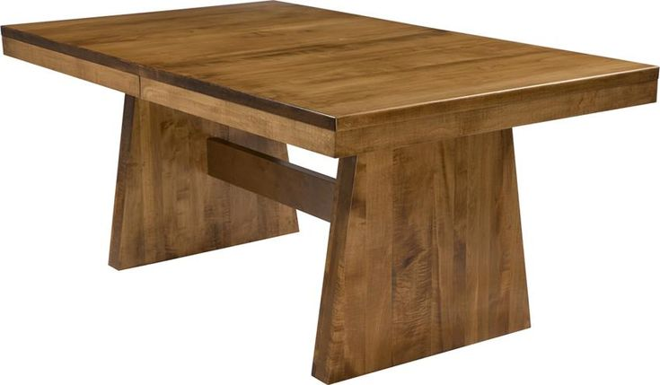Bayport Amish Made Extension Table The Bayport Amish Made Extension Table is handcrafted in America. Solid wood strength and beauty that will last for generations.