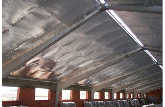Polynum Reflective Insulation combines thermal reflective layers of pure aluminium foil with a series of multi or single layered inner core compositions. Suitable for commercial, industrial, residential and agricultural roofs, ceilings, walls and suspended floors.