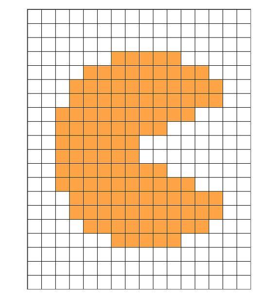 Instant Download  Pacmon 8Bit Perler Bead Sprite by ArtOfGaneneK, $1.99 #perler #beadsprites #pacman
