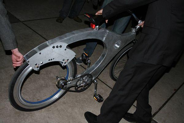 безосевое колесо велосипеда