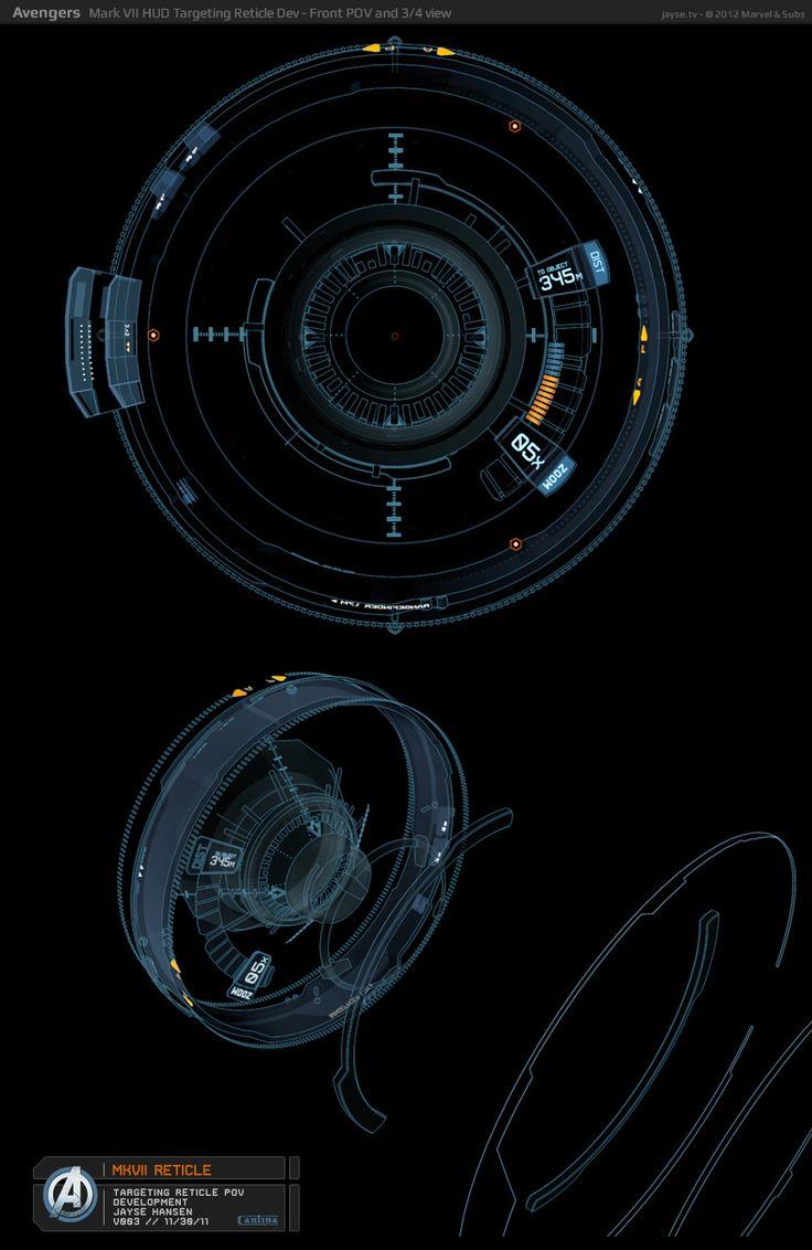 Jayse Hansen – Portfolio Site   Iron Man's Mark VII HUD