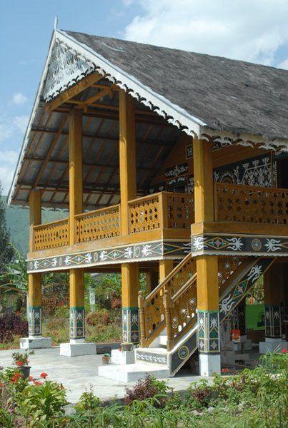 Rumah Adat Suku Gayo, Aceh, Indonesia