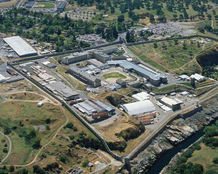 Aerial  of Folsom State Prison