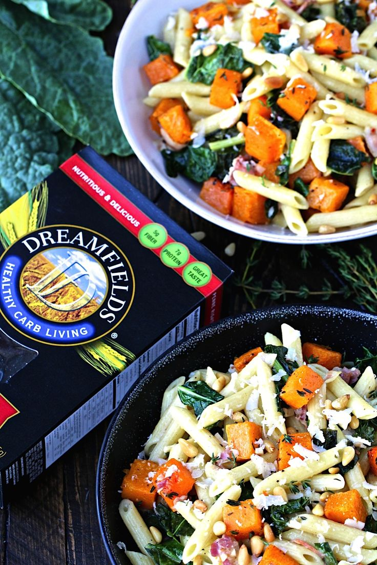 Fall pasta salad - Dreamfields Presents Healthy Pasta Month 31 Days 31 Recipes