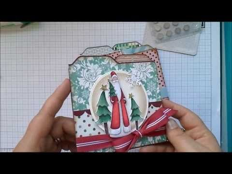 ▶ Envelope Punch Board - Square File Folder Card with Hidden Magnetic Closure - YouTube