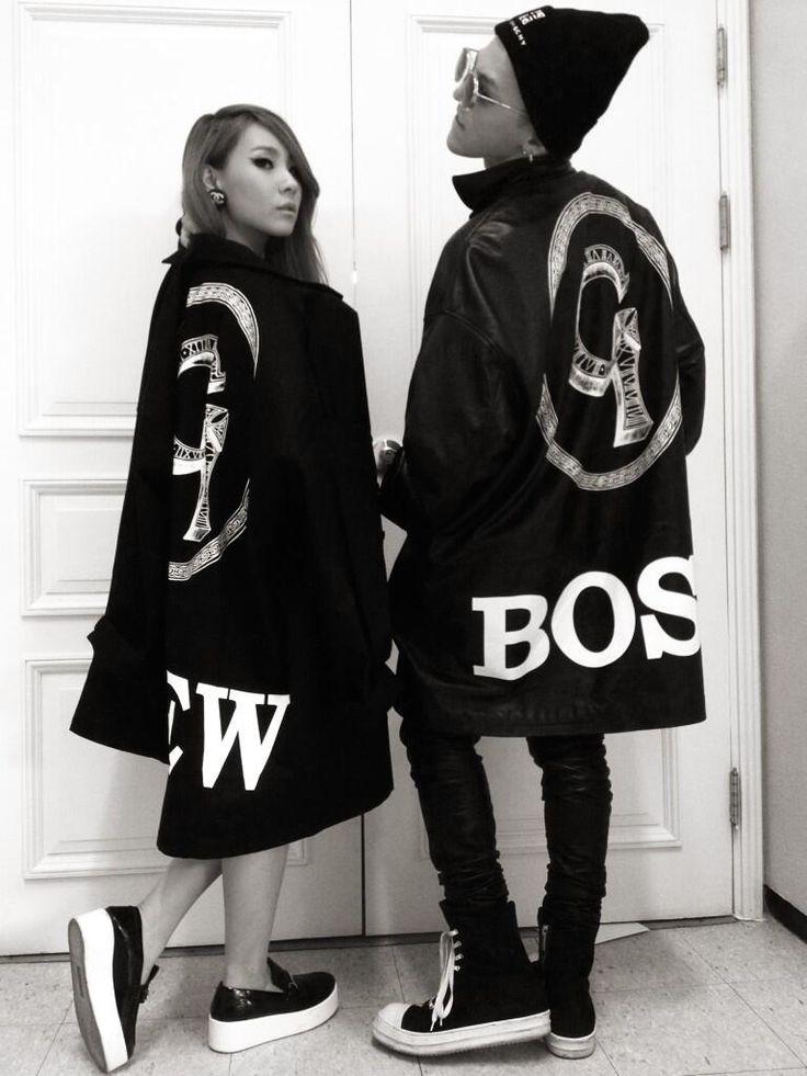 "Seo Ki Chul shares a photo of GD and CL ""Leaders!!!!!!! DOPE~"""