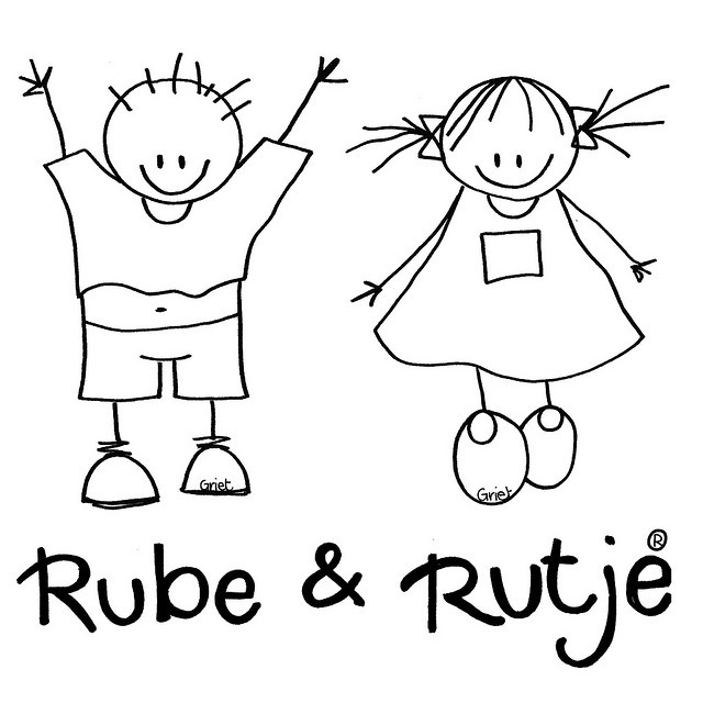 rube en rutje logo, via Flickr.