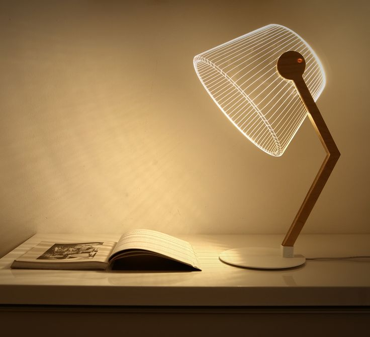 Cette lampe au design épuré et original apporte une touche design et futuriste dans toutes
