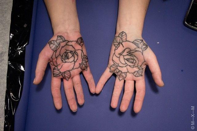 Rihanna Arabic Tattoo | Tattoo by MXM by eastrivertattoo, via Flickr