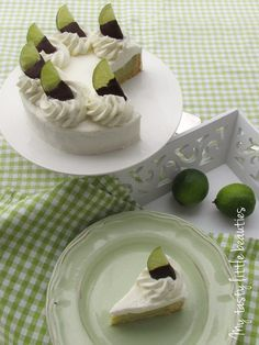 Erfrischende Limettentorte – My tasty little beauties