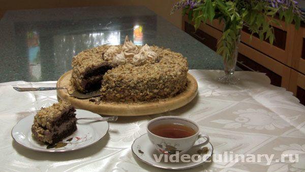 Рецепт Пражского торта или Торта Прага – это простой видео и пошаговый фото рецепт вкусного шоколадного торта со сгущённым молоком от Бабушки Эммы