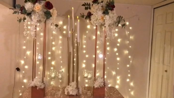 #diy- tall taper candleholder
