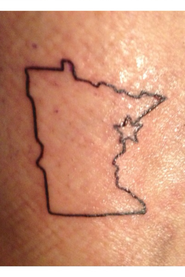 Duluth Minnesota tattoo and put a star in coonrapids/st paul MI area