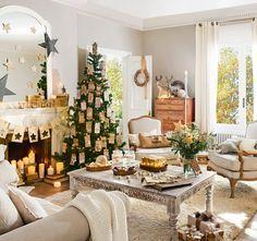 Tre stili di Natale in soggiorno. Cio che e Tuo? · Natale ElMueble.com