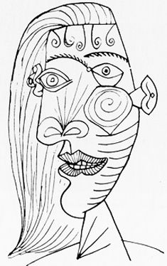 picasso-sketch-face.gif 235×374 pixels