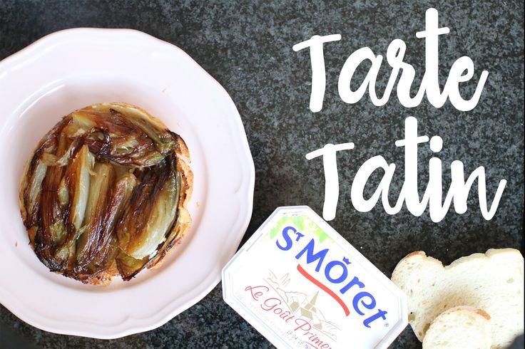 Recette de Tarte Tatin aux endives et  St Môret