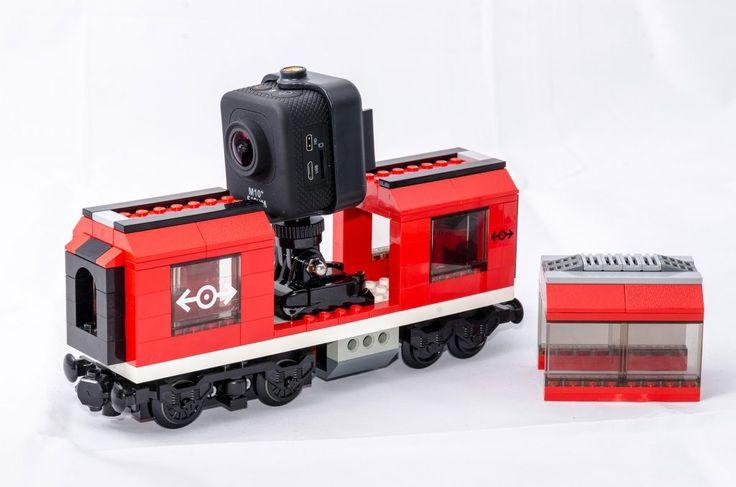 LEGO City Eisenbahn MOC Actioncam 3