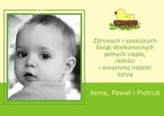 Wielkanocna fotokartka / Easter photo card