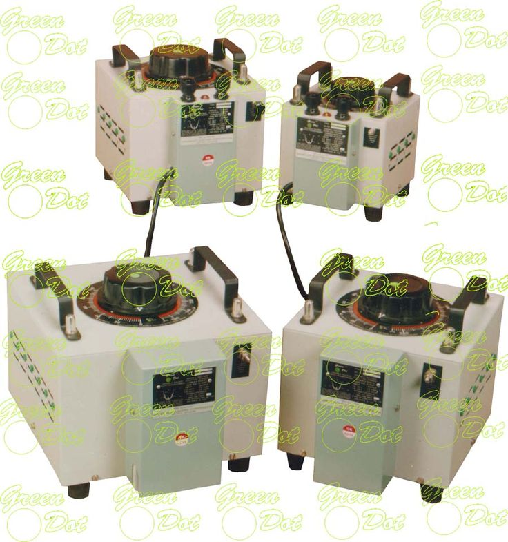 "it is an efficient, reliable method of controlling A.C. voltage from zero to line voltage by amplitude modulation of the A.C. waveform. Since the Current, Power, Heat, Light and Motor speed are further functions of the voltage, the ""Dimmer Dot"" Variable Transformer finds its varied use. .http://www.greendotindia.com/"