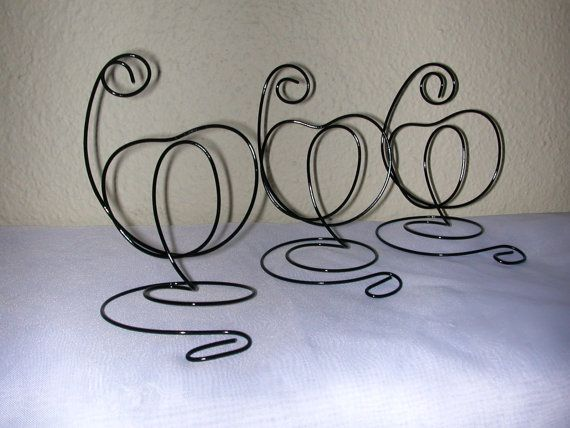 NEW New 12 Fall Pumpkin Wedding holders Thanksgiving holders/ Place card holders,Table number holders/Name card holders/ Wedding accessories...