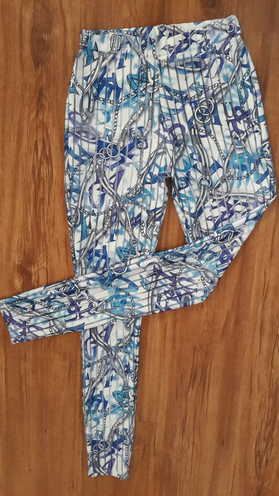 Printed Leggings by TamtrumClothing on Etsy, £10.89