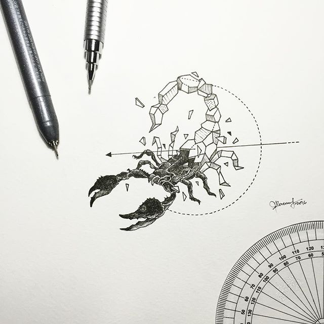 Geometric Beasts | Scorpion