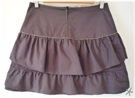 tuto jupe volantée