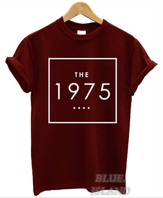the 1975 t shirt box swag  logo facedown rock band by teeisland1