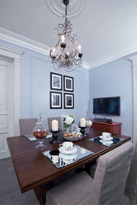 Переделка кухни-столовой «Прививка аристократизма»