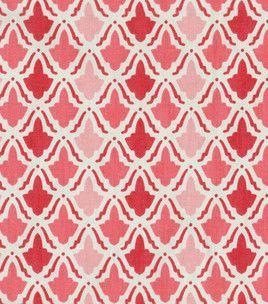Home Decor 8''x 8'' Fabric Swatch-Waverly On Display/Watermelon
