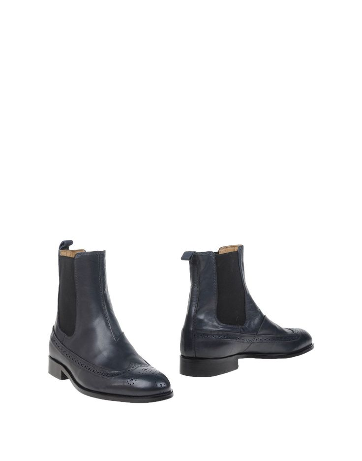 John Galliano | Blue Ankle Boots for Men | Lyst