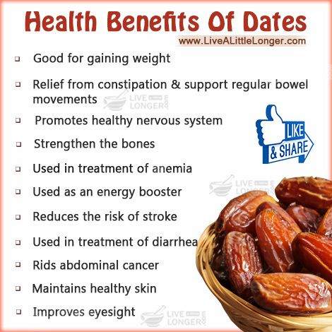 Health Benefits Of Dates #health #nature For More: www.livealittlelonger.com