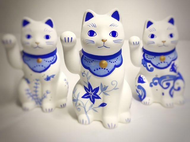 谷中・根津・千駄木エリアにある招き猫をメインにカフェ・スイーツ店を営む谷中堂では、あなたのペットを招き猫に!ペットの写真をお送り頂ければ、お客様のペットをモチーフにMy招き猫をお作り致します!