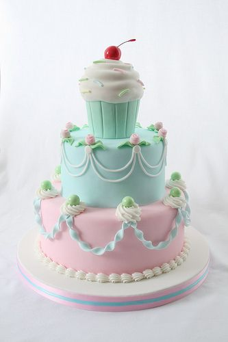 Cute cake.