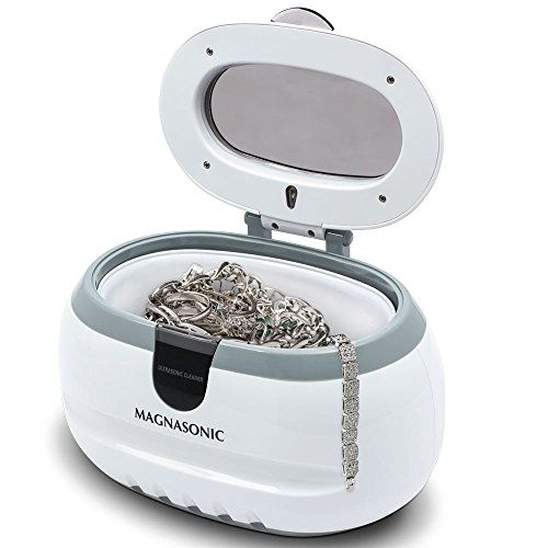 Fashion For Women Shopping Cart Product Details Magnasonic Professional Ultrasonic Polishing Jewelry Cleaner Machine for Cleaning Eyeglasses, Watches, Rings, Necklaces, Coins, Razors, Dentur…