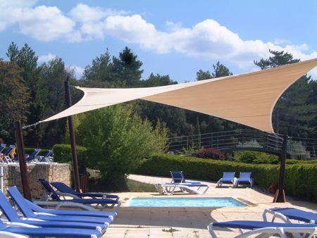 Les 25 meilleures id es concernant toile pergola sur pinterest toile pour p - Toile tendu terrasse ...